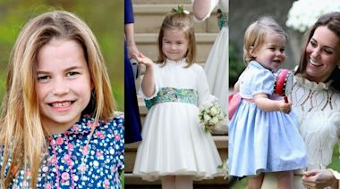 夏洛特公主6歲了!出生至今20個最可愛穿搭及時裝品牌大公開