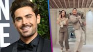 Watch Zac Efron Dance in His First TikTok Video With Jessica Alba!