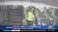 Arrest Made In George Floyd Statue Vandalism