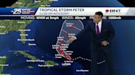 Tropical storms Peter and Rose move in Atlantic while posing no threat to land