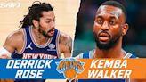 Ian Begley on Knicks' Derrick Rose vs. Kemba Walker, RJ Barrett proving he's a two-way player