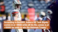 Updated BetMGM Heisman Trophy odds for Tank Bigsby, Bo Nix