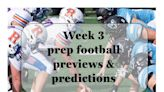 Week 3 prep football previews, viewing links and predictions - High School Sports