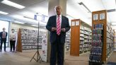 The Latest: Pence's top aide tests positive for coronavirus