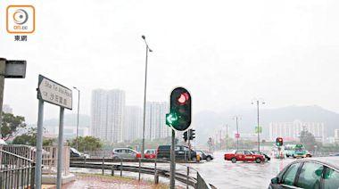 大涌橋路孭仔燈屢釀意外 擬加設安全島分隔行車線 - 東方日報