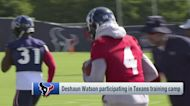 Steve Wyche details Deshaun Watson's first day at Texans training camp