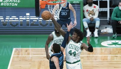 Time Lord likely vs. 76ers, per Stevens; Tatum, Edwards out Wednesday