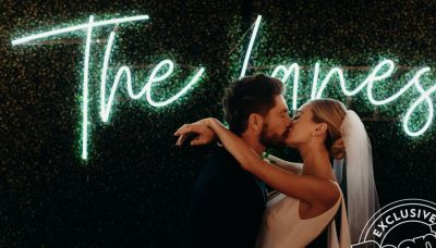 Inside Chris Lane and Lauren Bushnell's Wedding: Tears, a Surprise Kiss and One Crazy Bouquet Toss