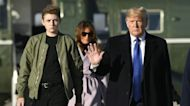Social media used shocked by Barron Trump's height