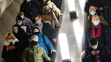 為應對新冠疫情 俄羅斯首都莫斯科強化防疫限制性措施-國際在線