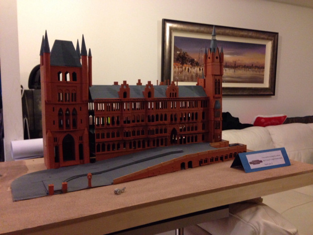 St Pancras N Scale Train Station by gfletch - Thingiverse
