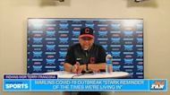 Terry Francona reacts to the Miami Marlins COVID-19 outbreak