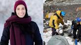 改變,不只是口頭說說:她成立「聖母峰」淨山團隊,3年來清出8.5噸垃圾