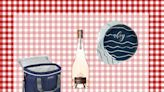 Everything you need for a picnic in the park