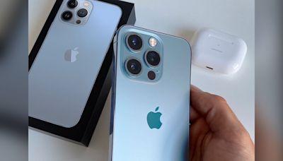 iPhone 13 Pro天峰藍實機照曝光! 色彩更明亮網友讚:太美了