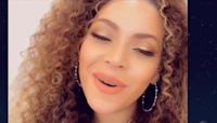 Beyoncé dedicates When You Wish Upon a Star to healthcare workers in surprise Disney singalong performance