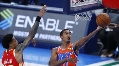 Theo Maledon tied Russell Westbrook in Thunder rookie history