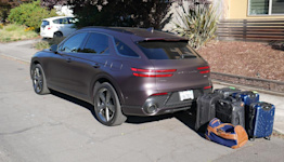 2022 Genesis GV70 Luggage Test   How much cargo space?