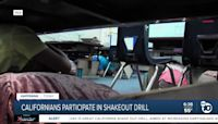Californians set to take part in 'Great California ShakeOut' drill