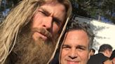 Mark Ruffalo Wishes Fellow Avenger Chris Hemsworth a Happy Birthday with Behind-the-Scenes Photos