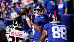 Daniel Jones: 'Guys are frustrated and certainly disappointed with the results'   Giants Post Game