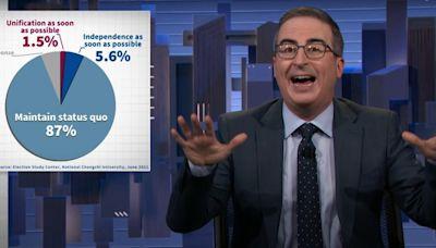 美脫口秀聊台灣「87%民眾傾向維持現狀」 主持人傻眼:根本不合理