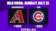 Betting: Diamondbacks vs. Cubs | July 25