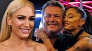 Ariana Grande Says She 'Stans' Blake Shelton and Gwen Stefani in 'The Voice' Bloopers