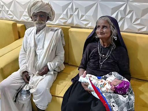 結婚45年恨生仔 印度70歲老婦靠人工受孕喜獲麟兒