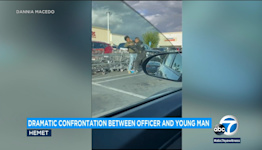 Hemet police officer punches young man in confrontation seen on video
