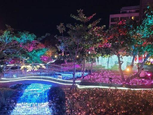 「2021四重溪溫泉季」登場!泡湯賞絢麗燈海及櫻花隧道