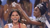 Photos show the emotional moment Miss Mexico Andrea Meza was crowned the new Miss Universe