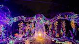 臺南必訪新景點~龍崎光節空山祭,藝術家的光影創作讓浪漫螢光點亮整座山頭!