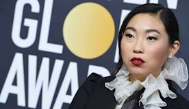 Awkwafina Makes History With Golden Globe Win for Actress in a Musical or Comedy