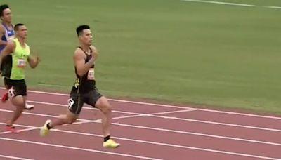 奧運國手楊俊瀚 全運會200M摘金