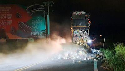 疑廢電池未正確回收引發垃圾車起火 清潔隊要究責