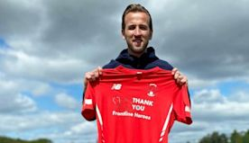 Harry Kane: England captain donates Leyton Orient shirt sponsorship to good causes