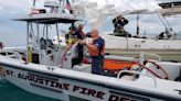 Good Samaritan helps rescue man after sailboat catches fire in St. Augustine