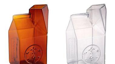 星巴克玻璃牛奶盒吸睛!經典黑品牌提袋夏季新品 | 蕃新聞