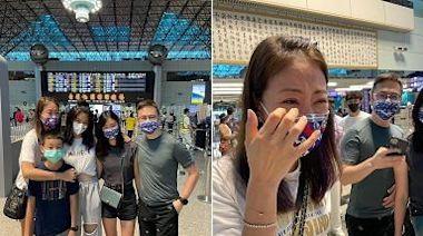 超戲劇化母女|賈永婕被安安惹毛下午大吵痛哭 傍晚送機再噴淚 | 蘋果新聞網 | 蘋果日報