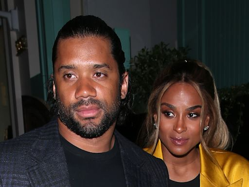 Ciara and Kids Cheer on Russell Wilson in Adorable Matching Letter Jackets