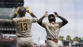 Pads stars Machado, Tatis say all's well after dugout dustup