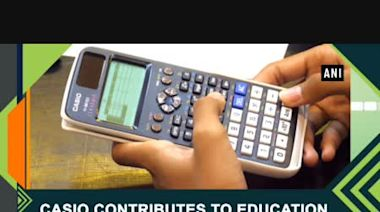 Casio contributes to education in Thailand