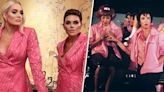 'Pink Ladies'! These 3 'Real Housewives' all wore the same blazer dress