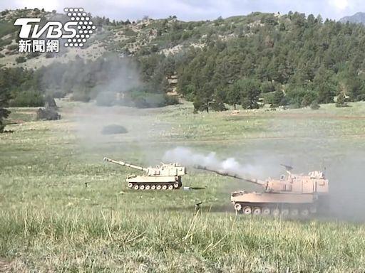 「號稱一車抵一連」美售台M109A6 邱國正:尚無正式消息│TVBS新聞網