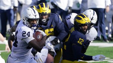 Penn State finally gets first win of 2020, and it comes at Michigan's expense