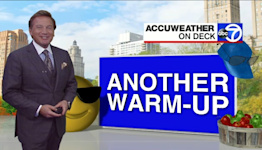 Wake-Up Weather: Another warm-up