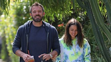 Ana de Armas Enjoys Afternoon Shopping With Ben Affleck and His Kids
