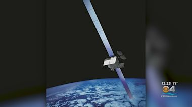 Exploding Satellite?