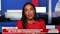 Alexandria Ocasio-Cortez claims 'a lot of lobbyists love' Dems opposing reconciliation bill